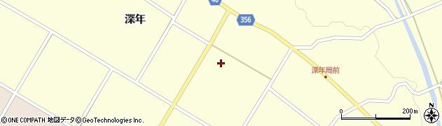 宮崎県東諸県郡国富町深年高田原周辺の地図