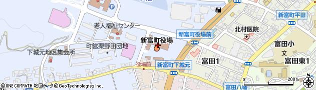 宮崎県児湯郡新富町周辺の地図