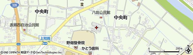 八坊住宅周辺の地図