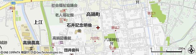 宮崎県高鍋町(児湯郡)高鍋町周辺の地図