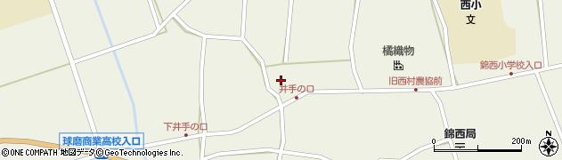 忍成寺周辺の地図