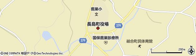 鹿児島県出水郡長島町周辺の地図