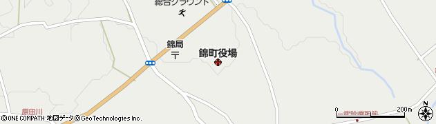 熊本県錦町(球磨郡)周辺の地図