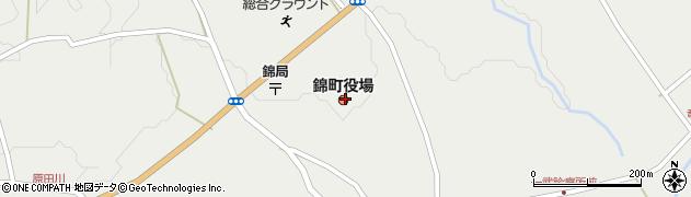 熊本県球磨郡錦町周辺の地図