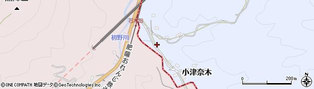 熊本県葦北郡津奈木町小津奈木瀬戸周辺の地図