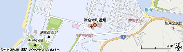 熊本県葦北郡津奈木町周辺の地図