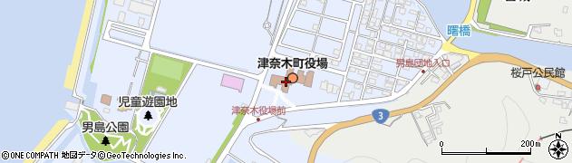 熊本県津奈木町(葦北郡)周辺の地図