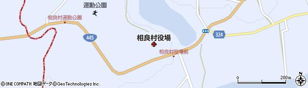 熊本県相良村(球磨郡)周辺の地図