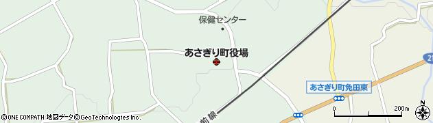 熊本県あさぎり町(球磨郡)周辺の地図