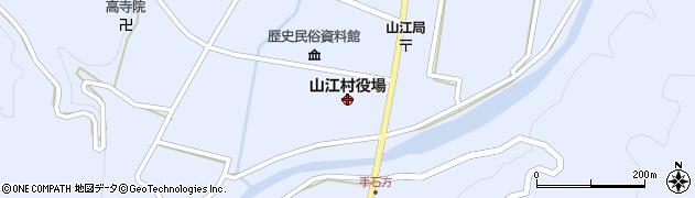 熊本県山江村(球磨郡)周辺の地図
