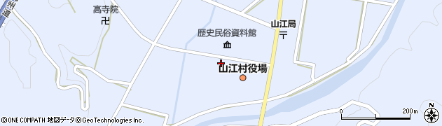 熊本県球磨郡山江村周辺の地図