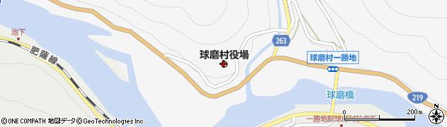 熊本県球磨郡球磨村周辺の地図