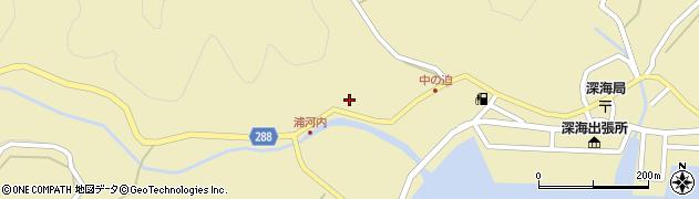 徳勝寺周辺の地図