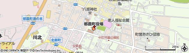 宮崎県児湯郡都農町周辺の地図
