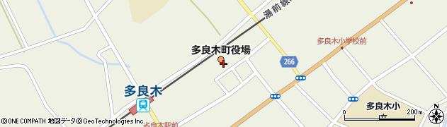 熊本県多良木町(球磨郡)周辺の地図