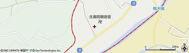 猫寺生善院周辺の地図