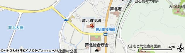 熊本県葦北郡芦北町周辺の地図