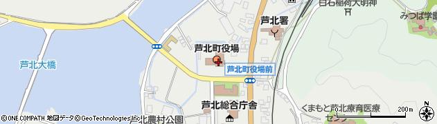 熊本県芦北町(葦北郡)周辺の地図
