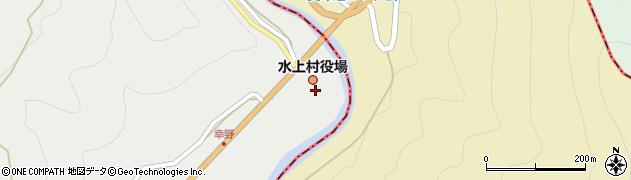 熊本県球磨郡水上村周辺の地図