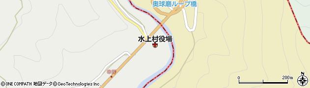 熊本県水上村(球磨郡)周辺の地図