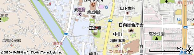 正念寺周辺の地図