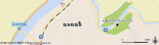 熊本県八代市坂本町坂本周辺の地図