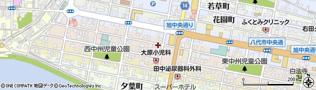 熊本県八代市黄金町周辺の地図