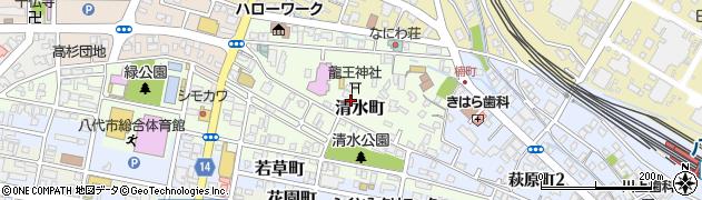 熊本県八代市清水町2周辺の地図