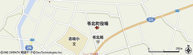 熊本県天草郡苓北町周辺の地図