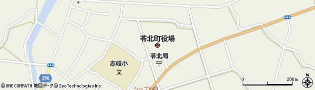 熊本県苓北町(天草郡)周辺の地図