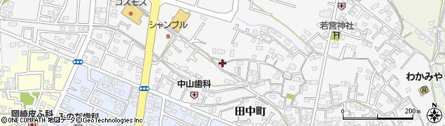 熊本県八代市古閑中町周辺の地図