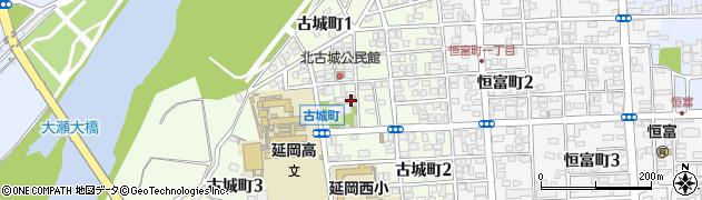 淡島大明神周辺の地図