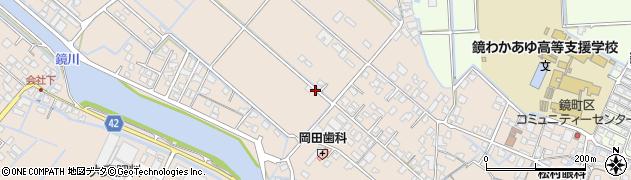 熊本県八代市鏡町鏡周辺の地図