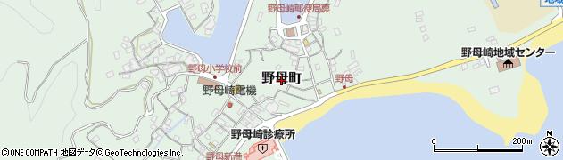 長崎県長崎市野母町周辺の地図