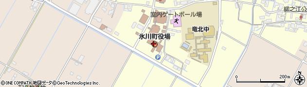 熊本県氷川町(八代郡)周辺の地図