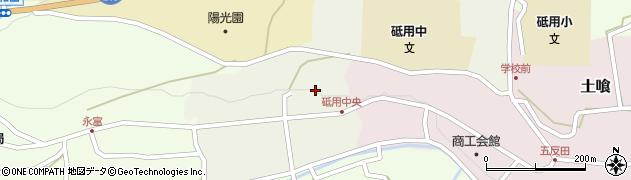 熊本県美里町(下益城郡)原町周辺の地図