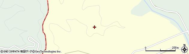 熊本県美里町(下益城郡)津留周辺の地図