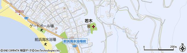 温泉神社周辺の地図