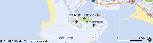 巖吼寺周辺の地図
