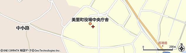 熊本県下益城郡美里町周辺の地図