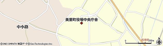 熊本県美里町(下益城郡)周辺の地図