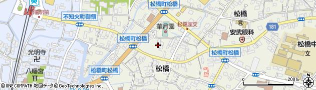 明覚寺周辺の地図