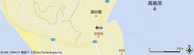 長崎県長崎市高島町(仲山)周辺の地図