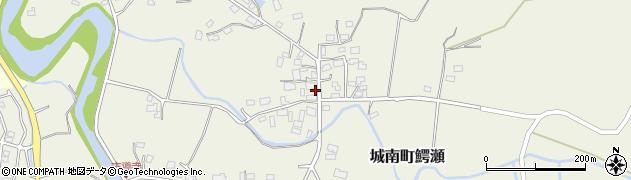 熊本県熊本市南区城南町鰐瀬周辺の地図