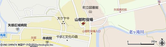 熊本県上益城郡山都町周辺の地図