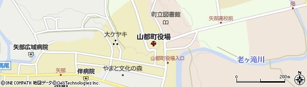熊本県山都町(上益城郡)周辺の地図