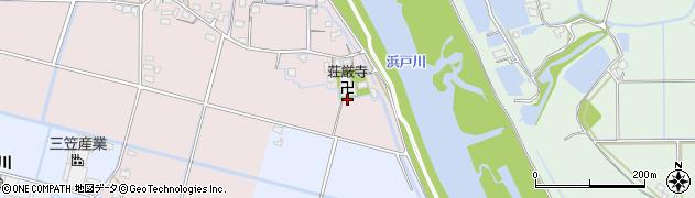 荘巌寺周辺の地図