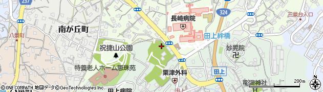 徳三寺周辺の地図