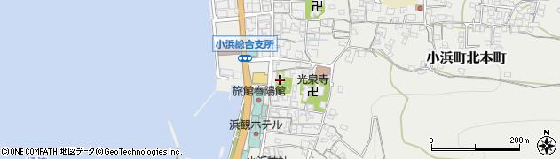 小浜神社周辺の地図