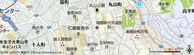 長崎県長崎市寄合町周辺の地図